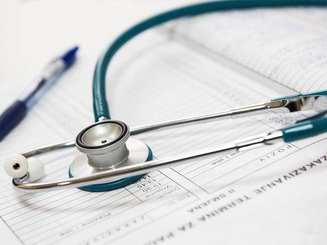 Stetoskop og skjema